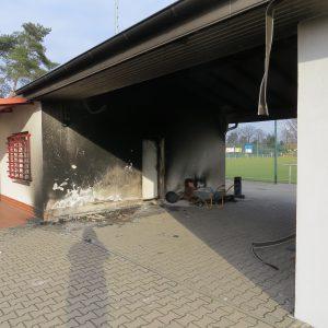 Sportplatzbrand